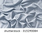 silver silk damask fabric wavy... | Shutterstock . vector #315290084