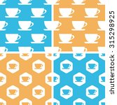 cup pattern set  simple and...