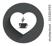 love coffee icon. hot coffee...