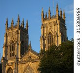 the towers of the historic york ...
