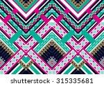 geometric ethnic pattern... | Shutterstock .eps vector #315335681
