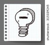 idea doodle | Shutterstock . vector #315339245