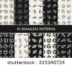 doodle school icons   Shutterstock .eps vector #315340724