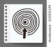 target doodle | Shutterstock . vector #315341159