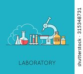 medicine background with the... | Shutterstock . vector #315348731