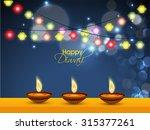 vector illustration for diwali... | Shutterstock .eps vector #315377261