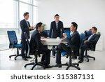 composite image of entrepreneur ... | Shutterstock . vector #315387131