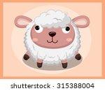 sheep cartoon | Shutterstock .eps vector #315388004