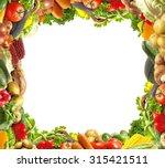 vegetables for all tastes | Shutterstock . vector #315421511
