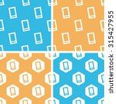smartphone patterns set