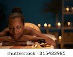 lovely african american woman... | Shutterstock . vector #315433985