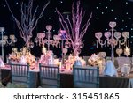 table setting for wedding or... | Shutterstock . vector #315451865