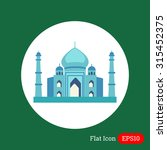 taj mahal icon | Shutterstock .eps vector #315452375