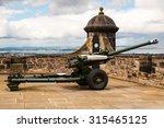 One O'clock Cannon At Edinburg...