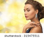 people  holidays and glamour... | Shutterstock . vector #315475511