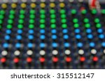blur knob colors sound mixer | Shutterstock . vector #315512147