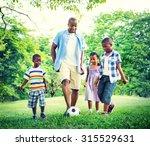 family bonding recreation... | Shutterstock . vector #315529631