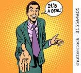 The Deal Man Businessman...