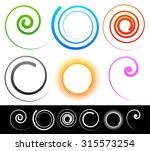 Colorful Spirals  Swirl  Twirl...