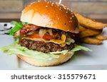 hamburger | Shutterstock . vector #315579671