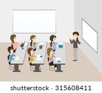 business seminar   Shutterstock .eps vector #315608411