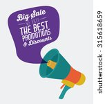 promotions and discounts ... | Shutterstock .eps vector #315618659