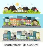 industrial downtown and urban... | Shutterstock . vector #315620291