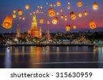 wat arun thailand | Shutterstock . vector #315630959