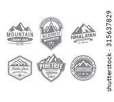 adventure vintage badge | Shutterstock .eps vector #315637829