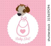baby shower concept with... | Shutterstock .eps vector #315659294
