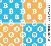 bitcoin pattern set  simple and ...
