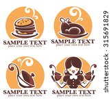 home made food  vector icon ... | Shutterstock .eps vector #315691829