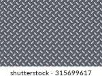 metal  seamless texture  | Shutterstock . vector #315699617