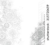 gears background. under... | Shutterstock .eps vector #315720659