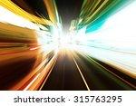speed motion | Shutterstock . vector #315763295