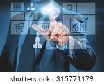 close up of businessman... | Shutterstock . vector #315771179