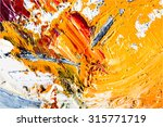 abstract painting fragment... | Shutterstock .eps vector #315771719