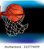 basketball background | Shutterstock .eps vector #315774059