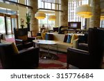 modern lobby interior. | Shutterstock . vector #315776684
