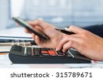 business accounting  | Shutterstock . vector #315789671