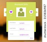 interface account login ...