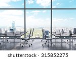 workplaces in a modern... | Shutterstock . vector #315852275