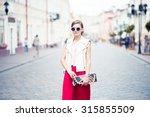 beautiful girl posing | Shutterstock . vector #315855509