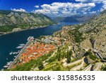 montenegro. bay of kotor  gulf...
