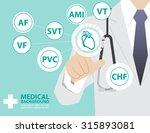 medicine doctor  working with... | Shutterstock .eps vector #315893081
