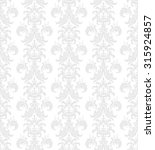 seamless victorian wallpaper in ... | Shutterstock .eps vector #315924857