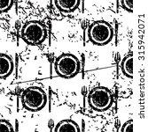 dishware pattern grunge  black...