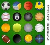 sport icons vector eps 8. | Shutterstock .eps vector #315942131