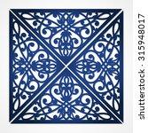 vector cutout pattern in... | Shutterstock .eps vector #315948017