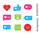 social pictogram counter...